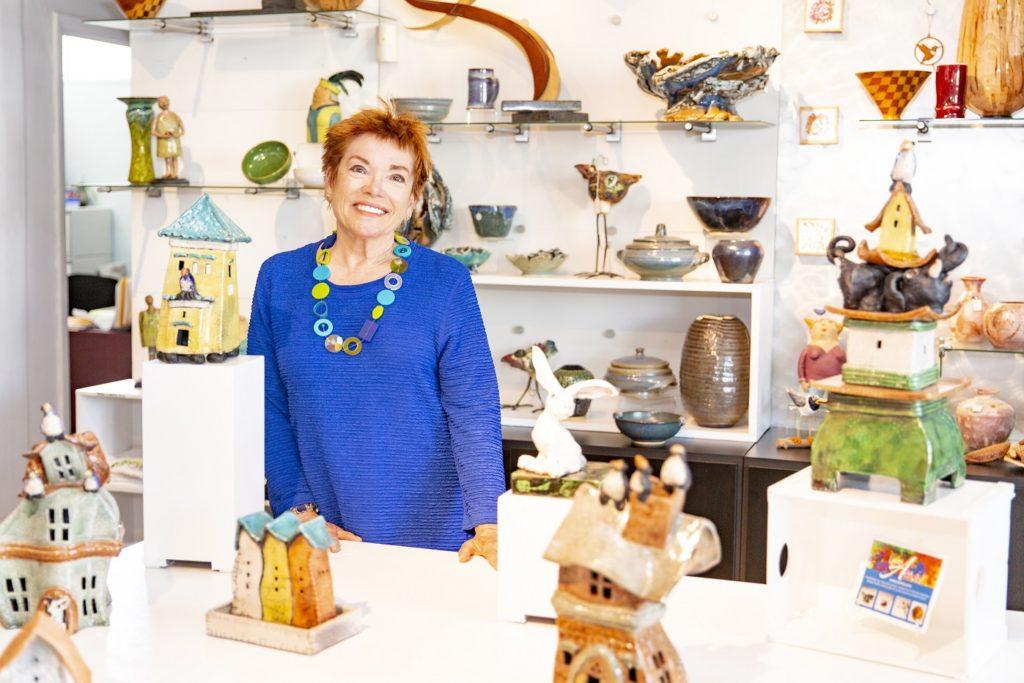 Sue Kerr, Artist at ArtCenter Manatee